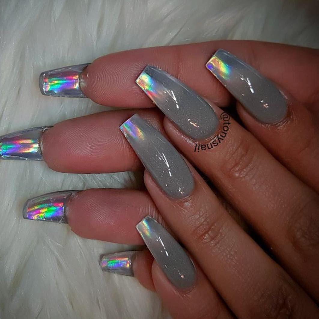 Fun nails design ✨❤ #allpowder #tonyly | Nails | Pinterest | Fun ...