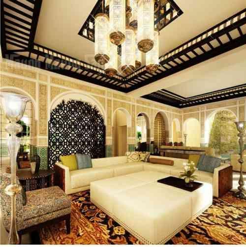 Le salon marocain s\u0027affiche en 33 exemples étonnants Salon
