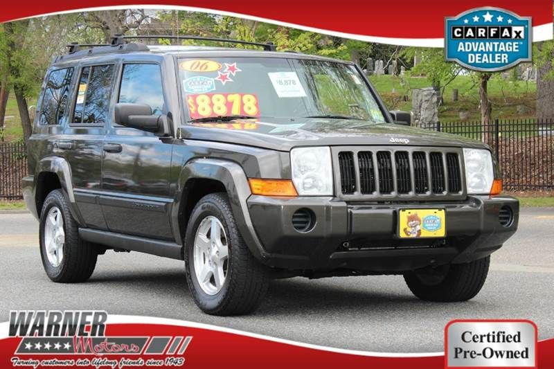 2006 Jeep Commander 4dr SUV 4WD East Orange NJ Jeep