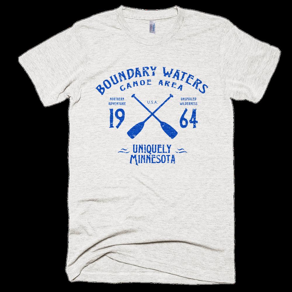 Men's Vintage Sport-Inspired BWCAW Series TriBlend Shirt – Landmark Collection™