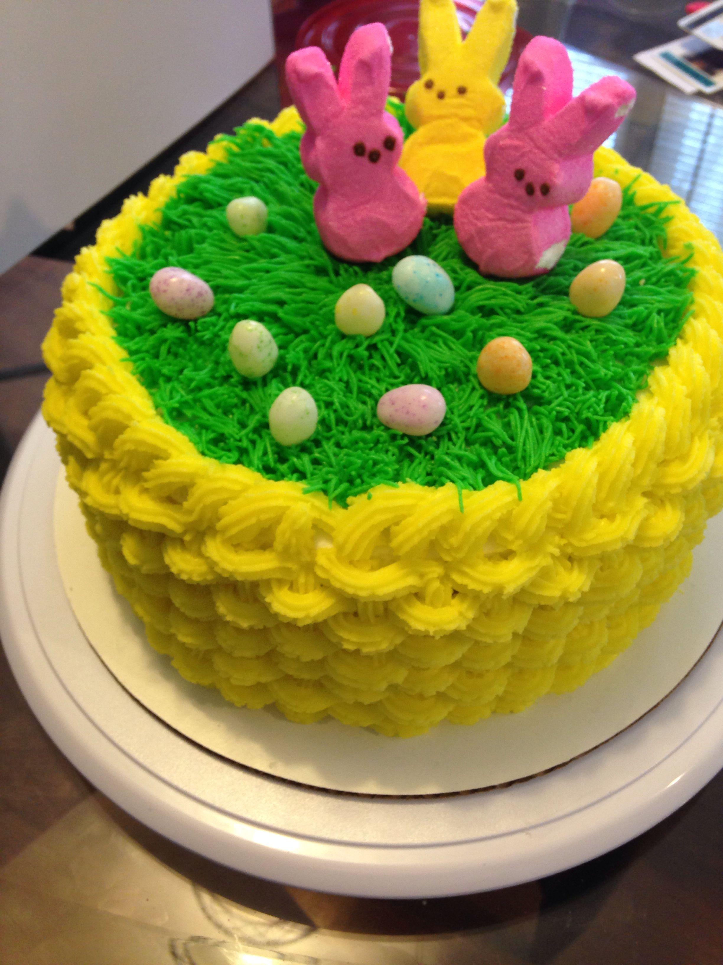 Easter basket cake easter basket cake cake desserts