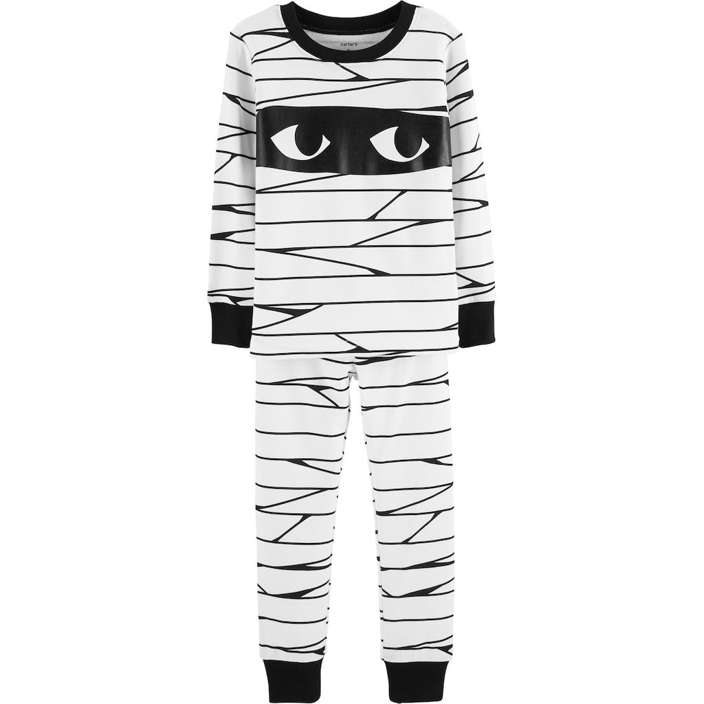 5f72505c6ed9 Baby Carter s Glow-In-The-Dark Halloween Mummy Pajama Set