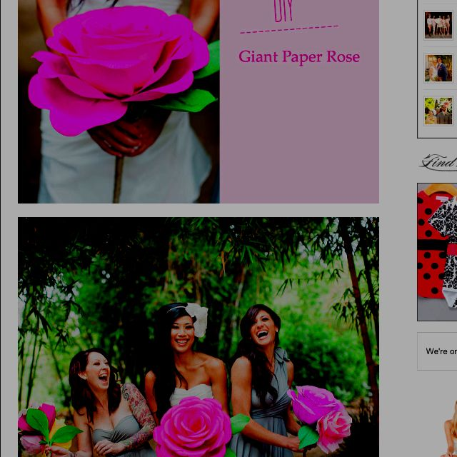 Easy diy huge paper flowers go to this website http easy diy huge paper flowers go to this website httpgreenweddingshoes mightylinksfo