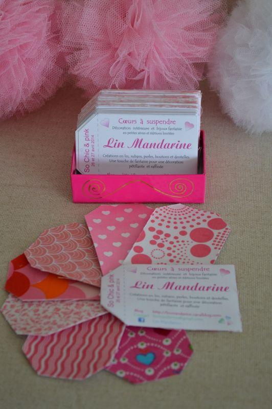 Cartes De Visites Pink