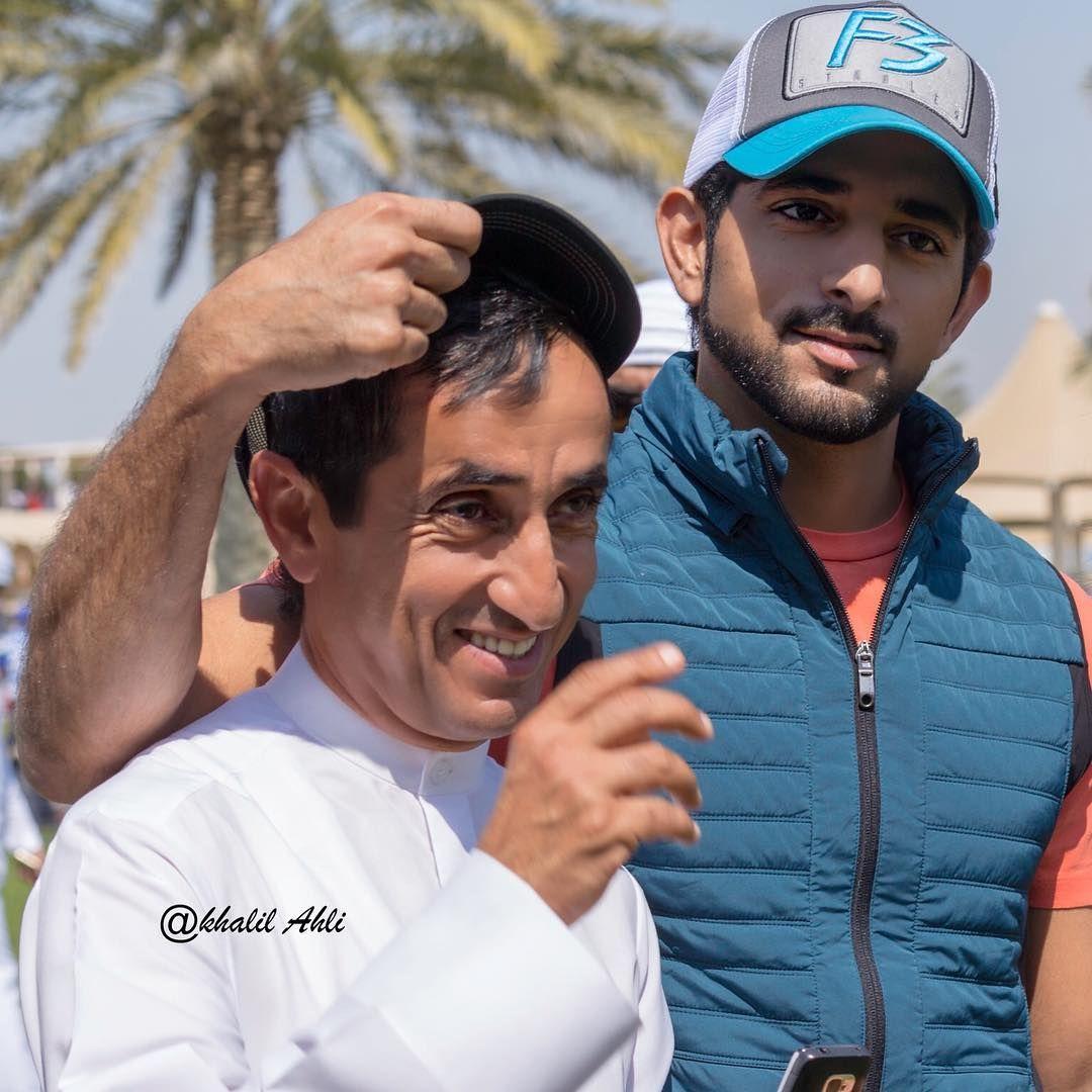 Saeed Bin Maktoum Bin Juma Al Maktoum Y Su Sobrino Hamdan Bin Mohammed Bin Rashid Al Maktoum Foto Khalil Ahli2 Prince Celebrities Royal Prince
