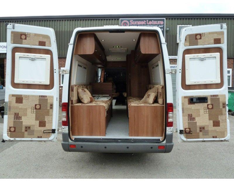 Lwb Mercedes Sprinter Motorhome Conversion B 800 621 Camper Van Ideas