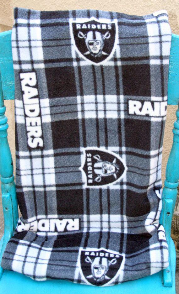 Oakland Raiders NFL Football Plaid Custom by RoseJadeHandmade, $19.99