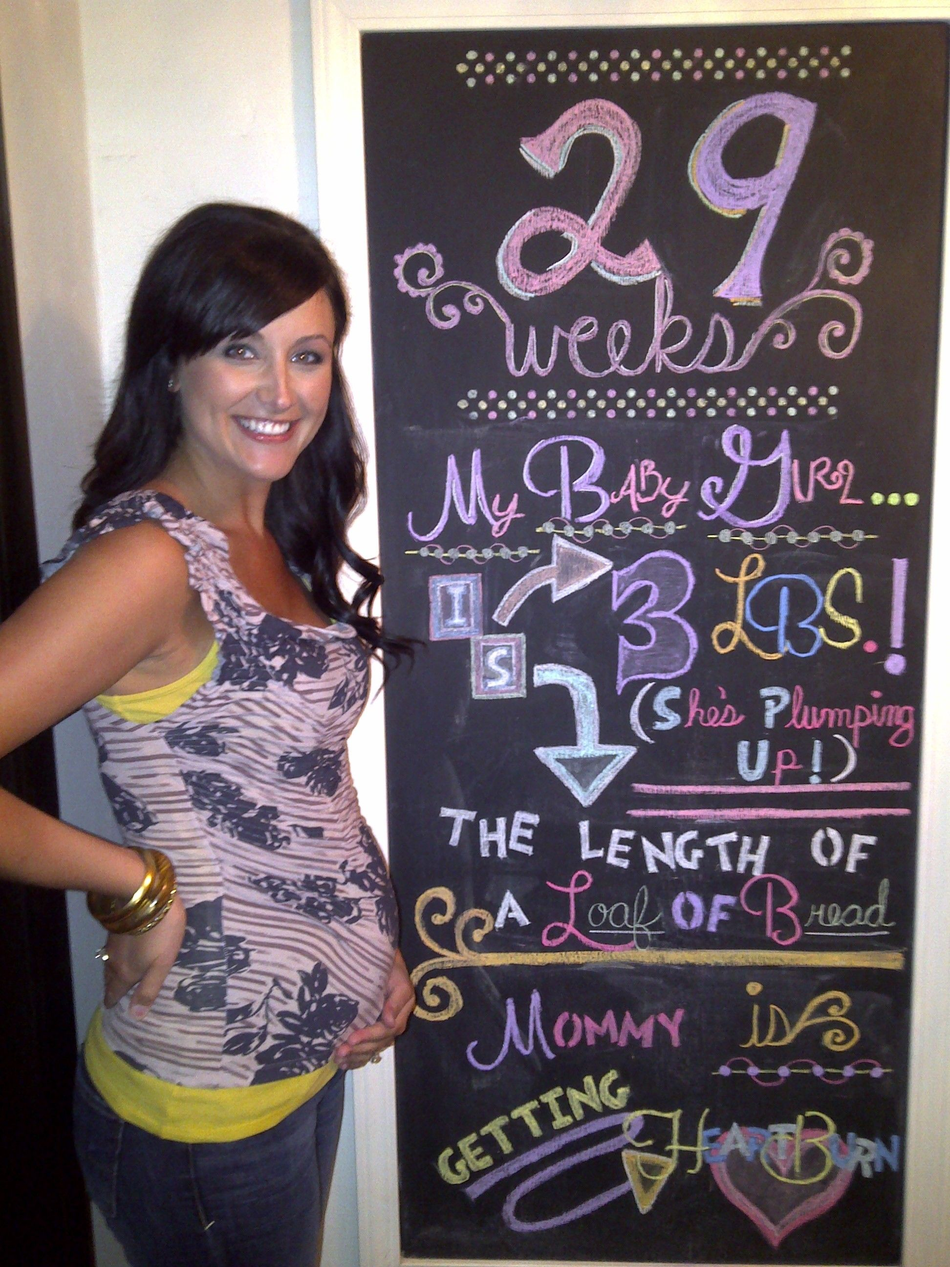 7 more weeks and she'll be considered full-term!   Baby ...