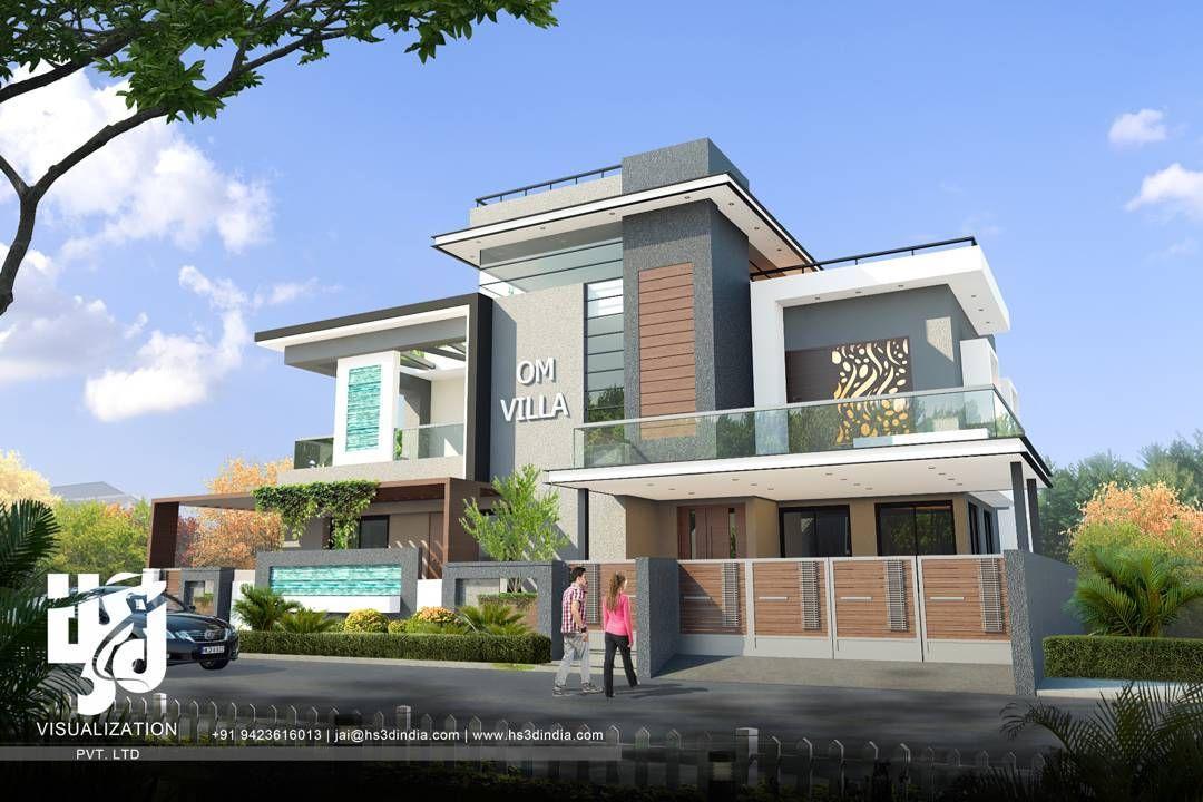 villa bungalow exteriordesign archdaily archilovers cgi architects