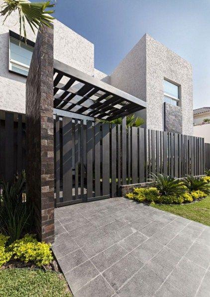 fachadas con herreria modernas fachadas pinterest
