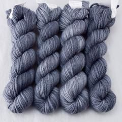 K2 is a bouncy chunky yarn that will work beautifully for large-scale accessories. It knits up fast and warm, soft but still substantial, with a brilliant depth