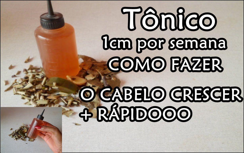 Tratando Tonico Babosa Gengibre Cha Verde Cavalinha