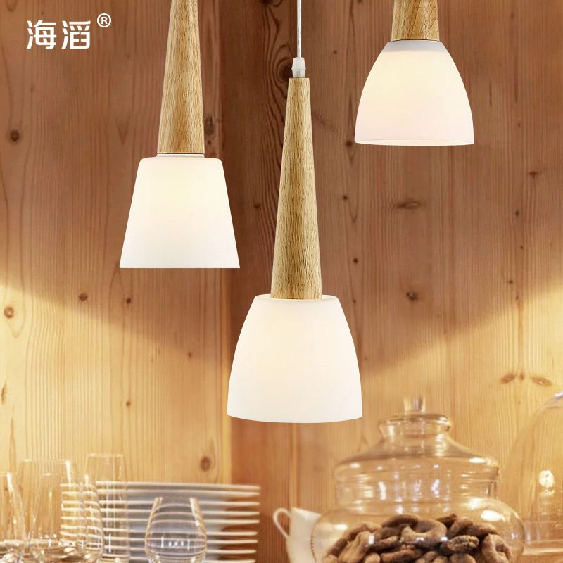 $100.05 (Buy here: http://appdeal.ru/esxn ) TOP!!Modern brief decoration lamps personalized bedside bar glass pendant light  LED for just $100.05