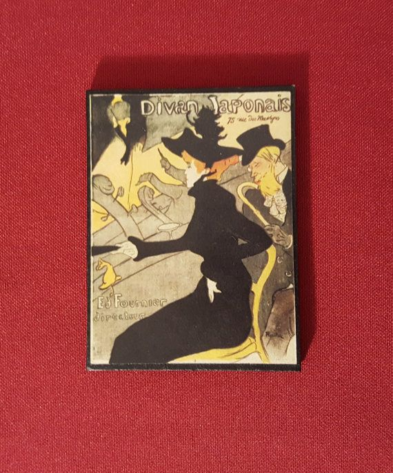 Etsy €4.50 Toulouse Lautrec handmade The famous