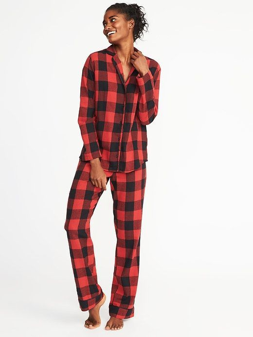 e71fef605ab3d Printed Flannel Sleep Set for Women for those cool winter  nights.#affiliatelink