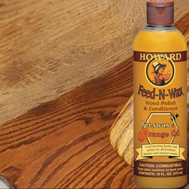 Howard Feed N Wax Brings Dry Wood Back To Life Howardproducts