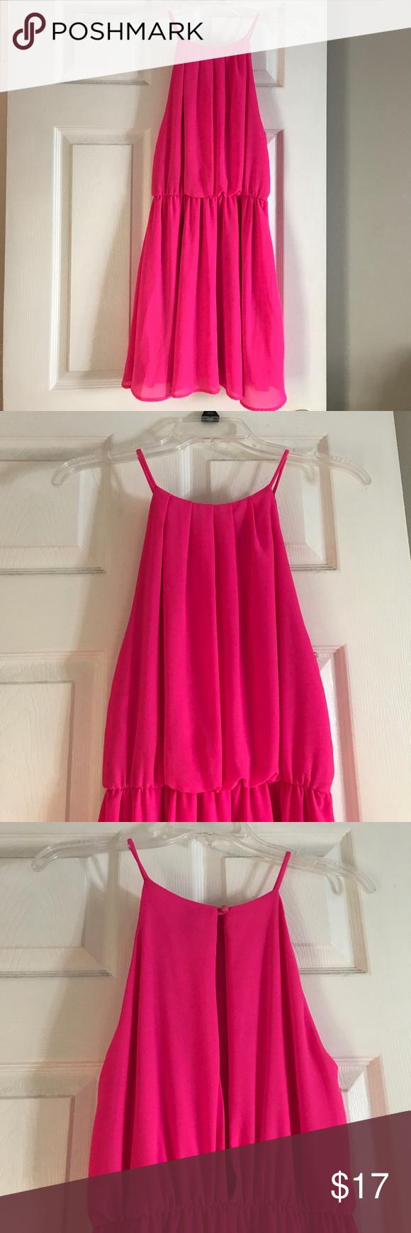 Hot pink color dress  Windsor Hot pink dress  Hot pink dresses Windsor FC and Pink dresses