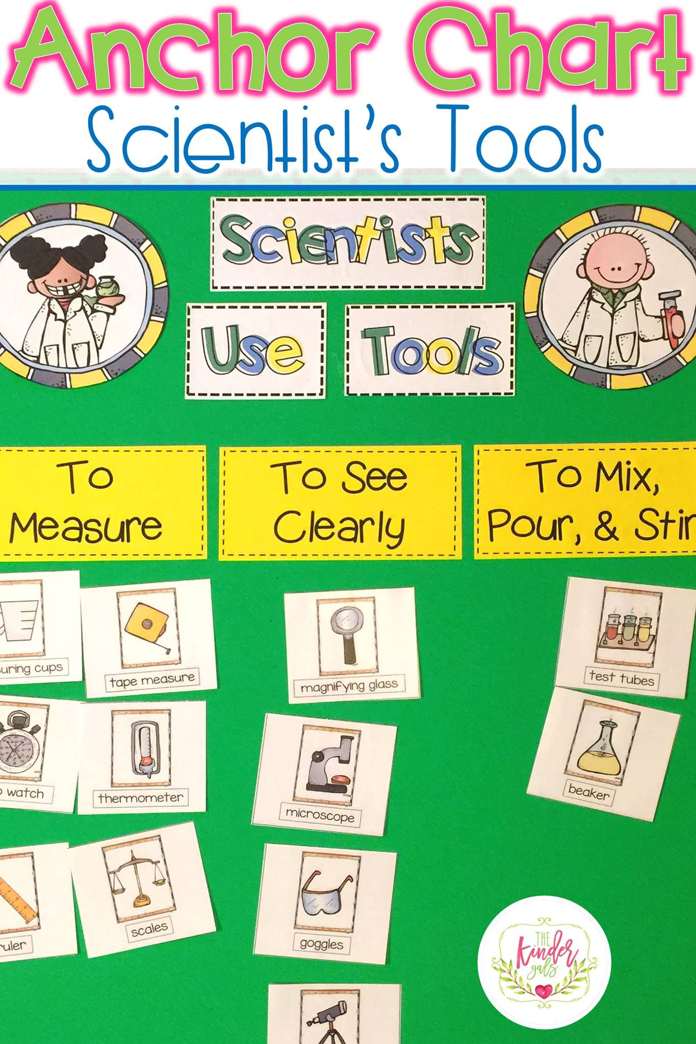 Simply Science The Scientific Method And Science Tools By Kim Adsit Science Tools Activities Science Tools Anchor Chart Kindergarten Science [ 2048 x 1365 Pixel ]