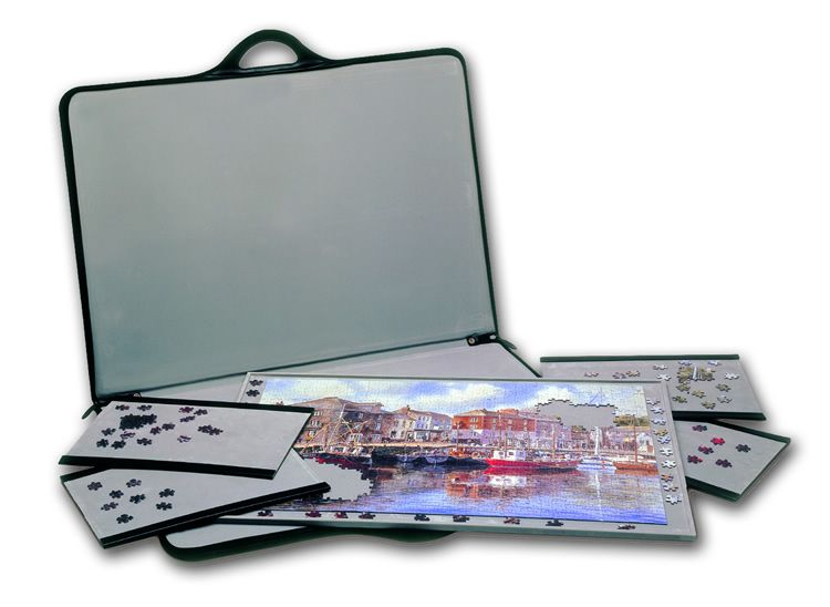 Jigsaw Accessories Jigsort 1500 Portable Puzzle Carrier Complete With  Separate Sort Trays