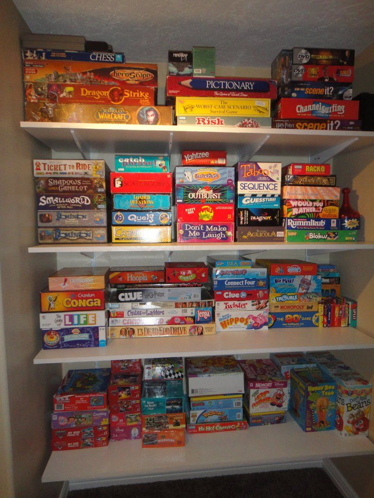 Charmant Game Closet  Board Game Recommendations