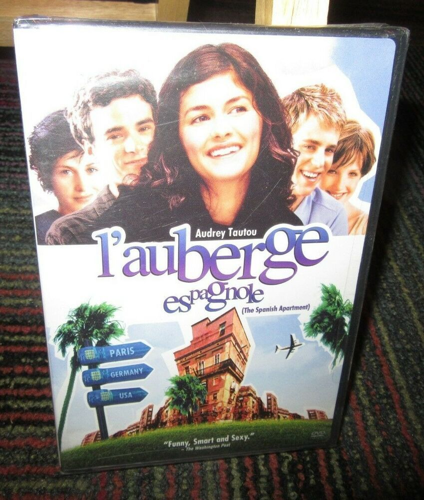 L Auberge Espagnole The Spanish Apartment Dvd Movie French Eng Suble New
