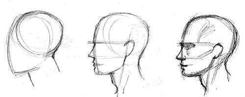 How To Draw Faces For Beginners Ehow Drawing For Beginners Face Drawing Human Face Drawing