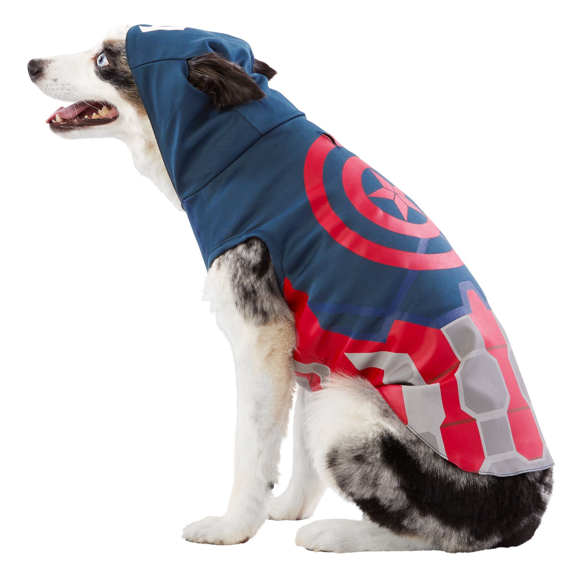 Marvel Comics Captain America Pet Costume Size Medium Black Blue Grey Pet Costumes Cute Funny Dogs Pets Find captain costumes in canada | visit kijiji classifieds to buy, sell, or trade almost anything! pinterest