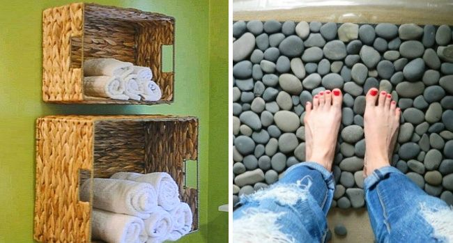 12 Trucos para hacer el cuarto de baño más confortable
