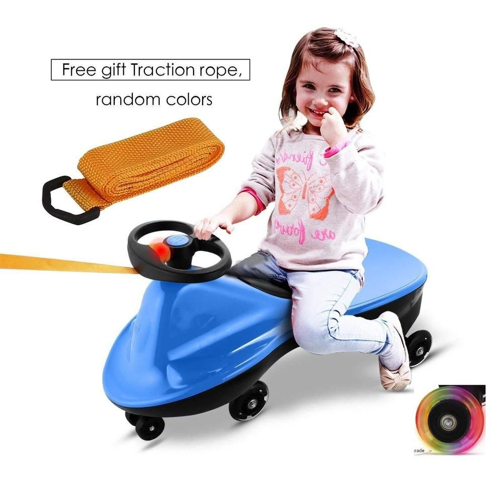 Toys cars for kids  Vividy Kids Ride On Toys Plasma Car Wiggle Car for Kids Boys Girls