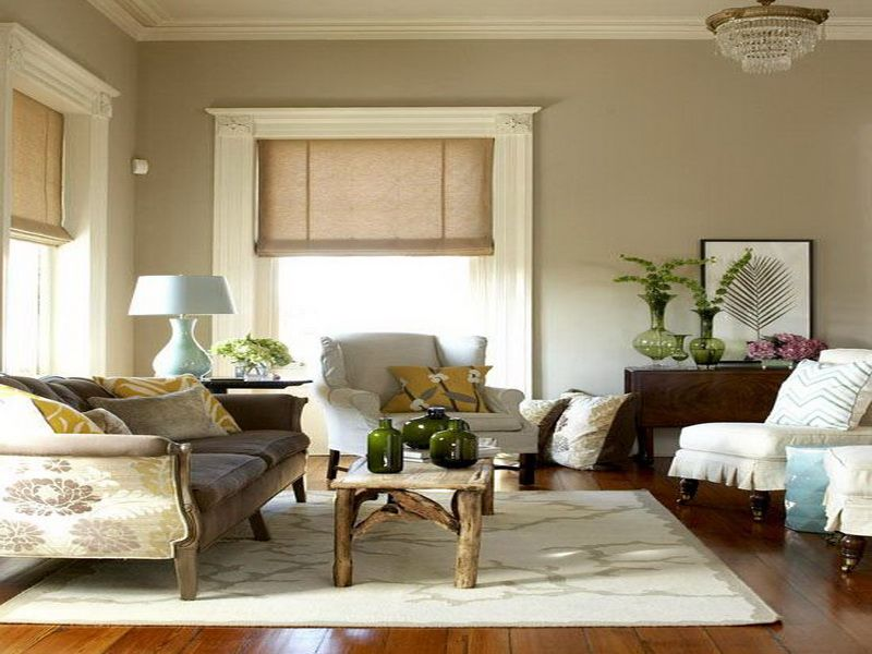 Rustic Living Room Color Schemes