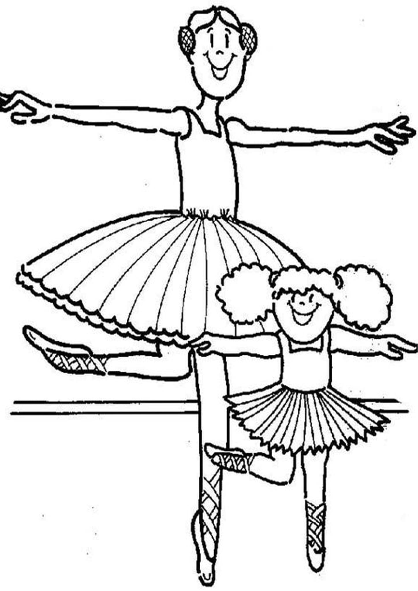 Free Easy To Print Ballerina Coloring Pages In 2020 Coloring Pages Ballerina Coloring Pages Cute Coloring Pages