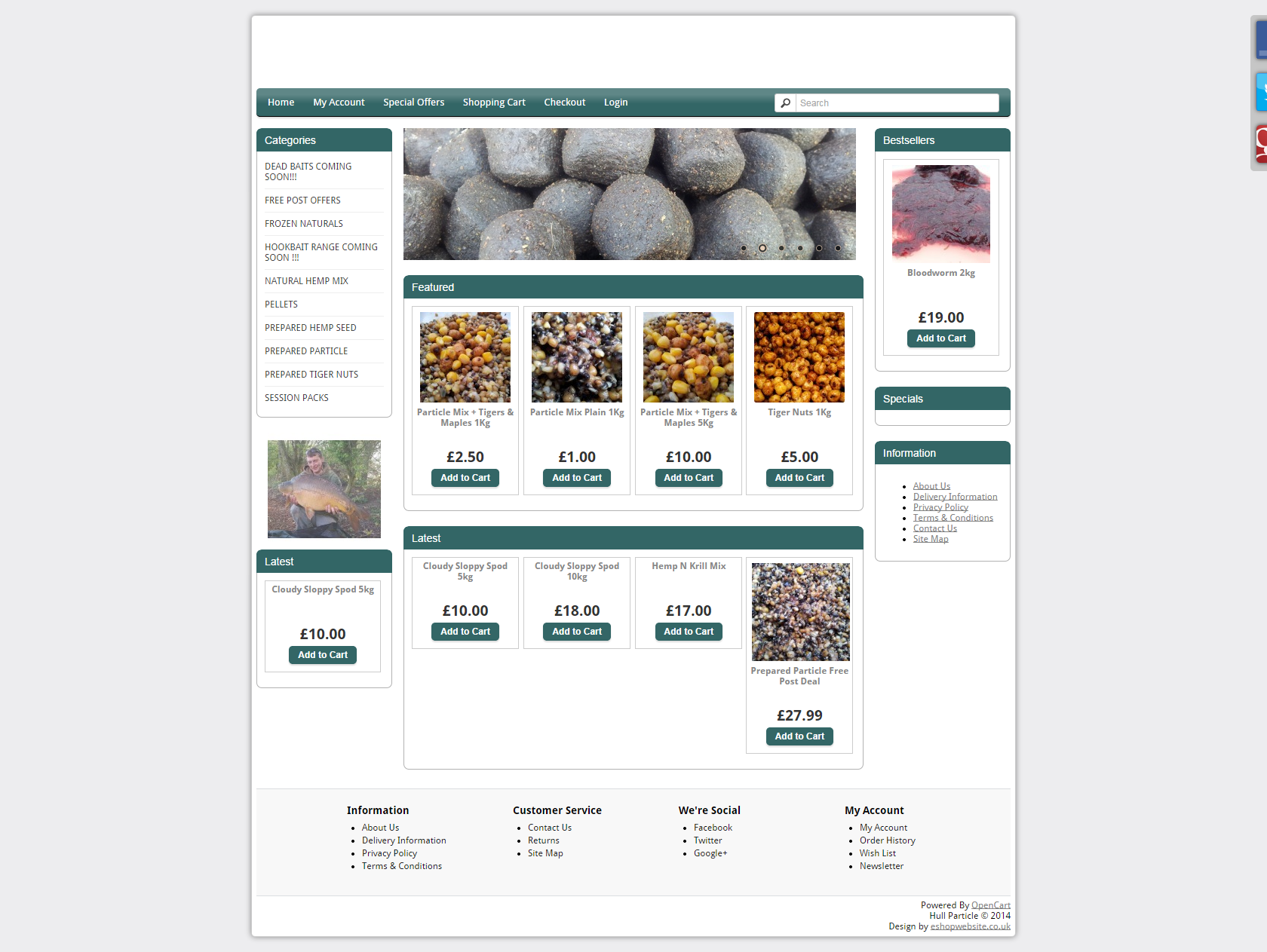 http://carpfish.co.uk/tackle-shops/listings/hull-particle/ New post (Hull Particle ) has been published on Tackle Shops