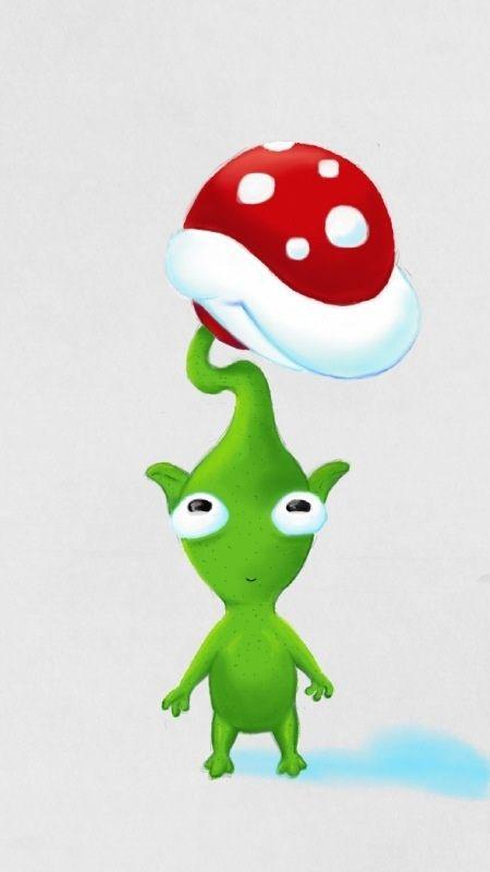 Green Pikmin By Sammygwiseguy On Deviantart More Like