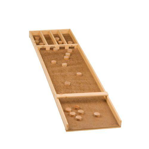 shuffleboard sjoelbak billard shuffle board 120 x 28 cm spielzeug spiele1. Black Bedroom Furniture Sets. Home Design Ideas