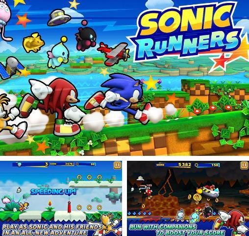 Скачать соник на андроид планшет Sonic runners, Sonic