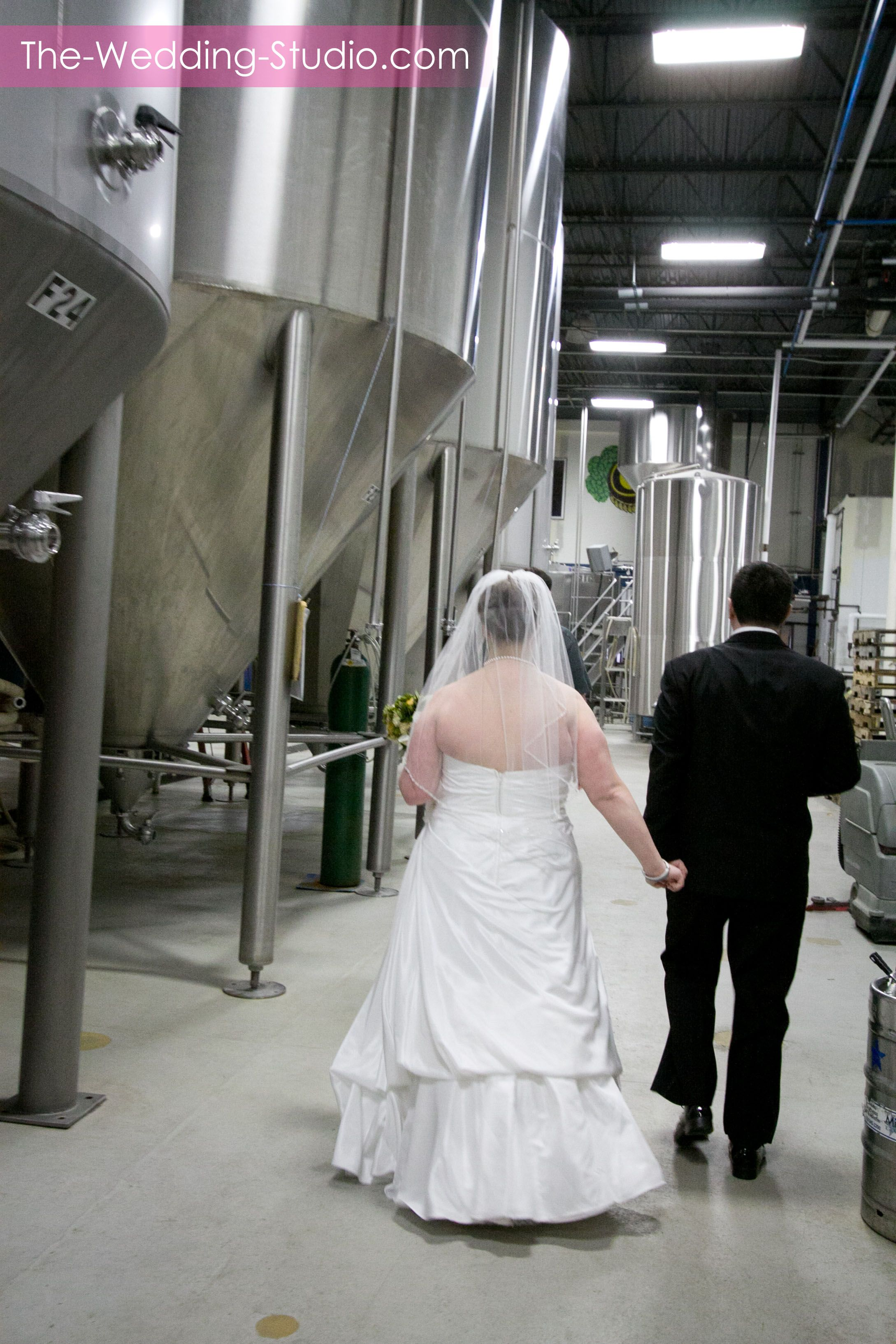 Take a stroll through the Two Brothers Brewery on your