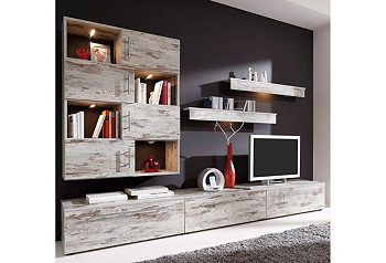 Lowboard hängend otto  Wohnwand (6-tlg.), OTTO 549,99€ | Zukünftige Projekte | Pinterest ...