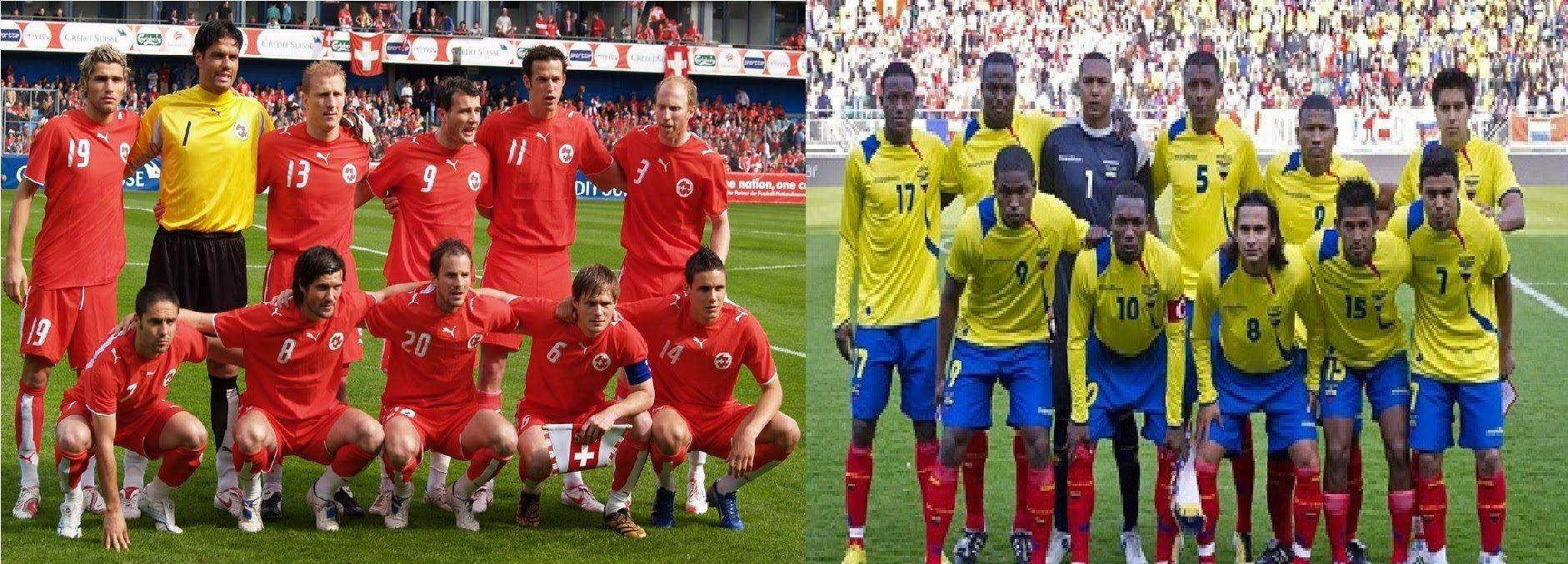 Switzerland Vs Ecuador Match FIFA World Cup 2014