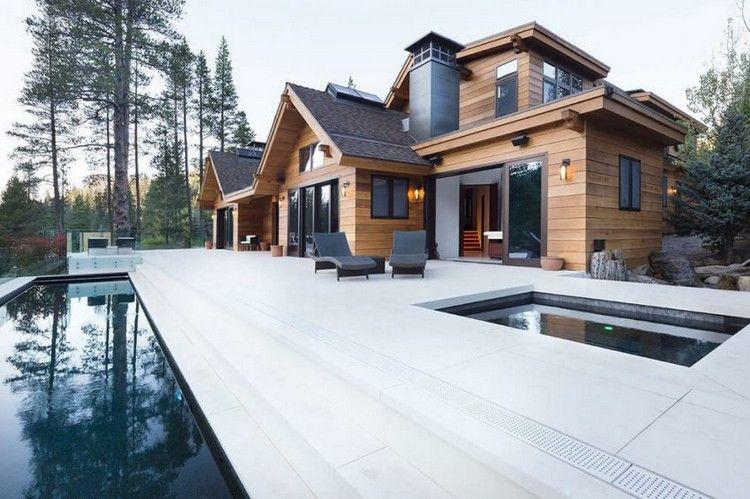 Traumhaus modern mit pool  Schönes Haus mit Pool und Whirlpool am Lake Tahoe | living ...