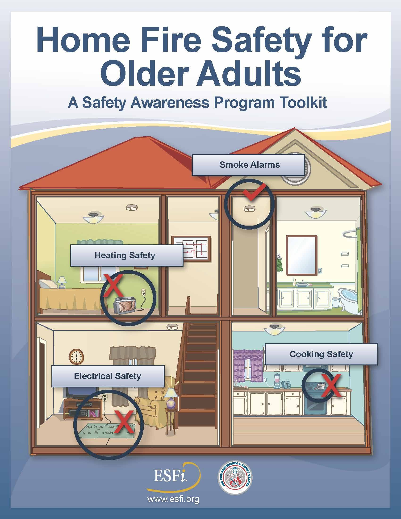 Home safety for older adults yourhomematters2015 for Fire prevention tips for home