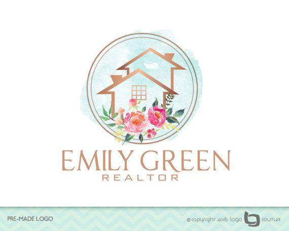 Premade Real Estate Company Logo Real Estate Logo Watercolor