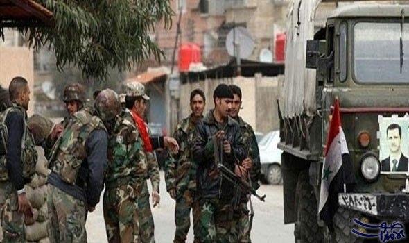 الجيش السوري يطرد داعش من مطار عسكري شمال البلاد: الجيش السوري يطرد داعش من مطار عسكري شمال البلاد
