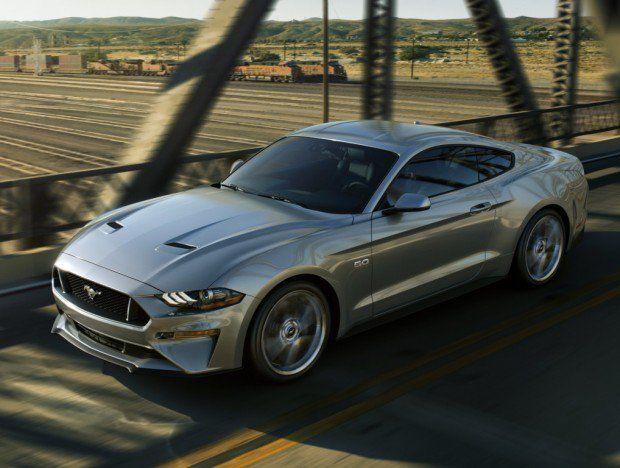 Ford Mustang 2018 visual mais retr´ suspens£o magnética e c¢mbio