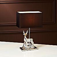 ASDA Black Stag Table Lamp