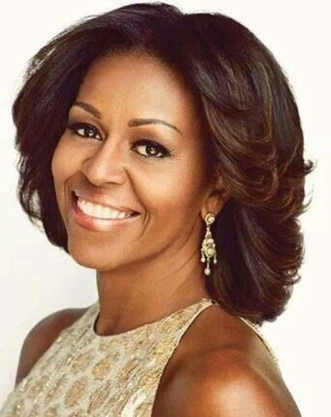 Michelle Obama Hairstyles Radiant Look Michelle Obama Hairstyles Latest Bob Hairstyles Michelle Obama