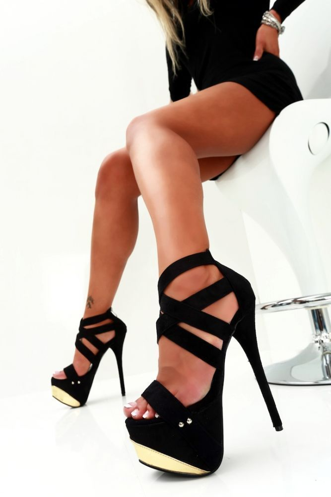 Sexy Sandals 284 | Sandals (4) | Pinterest | High heel, Korean ...