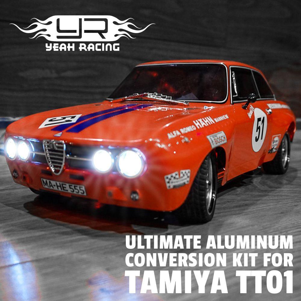 Yeah Racing Ultimate Aluminum Conversion Kit For Tamiya Tt01 Baubericht Teil 1 2 Gerys Rc Modellbau Blog