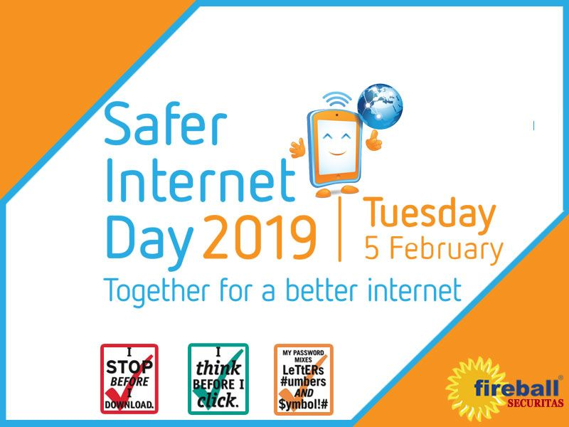 Fireball Securitas Consultants Pvt Ltd On Linkedin Happy Safer Internet Day We Need Security Everytime To Keep Safe Our Life So Keep Calm And Stay Saf Safe Internet Staying Safe