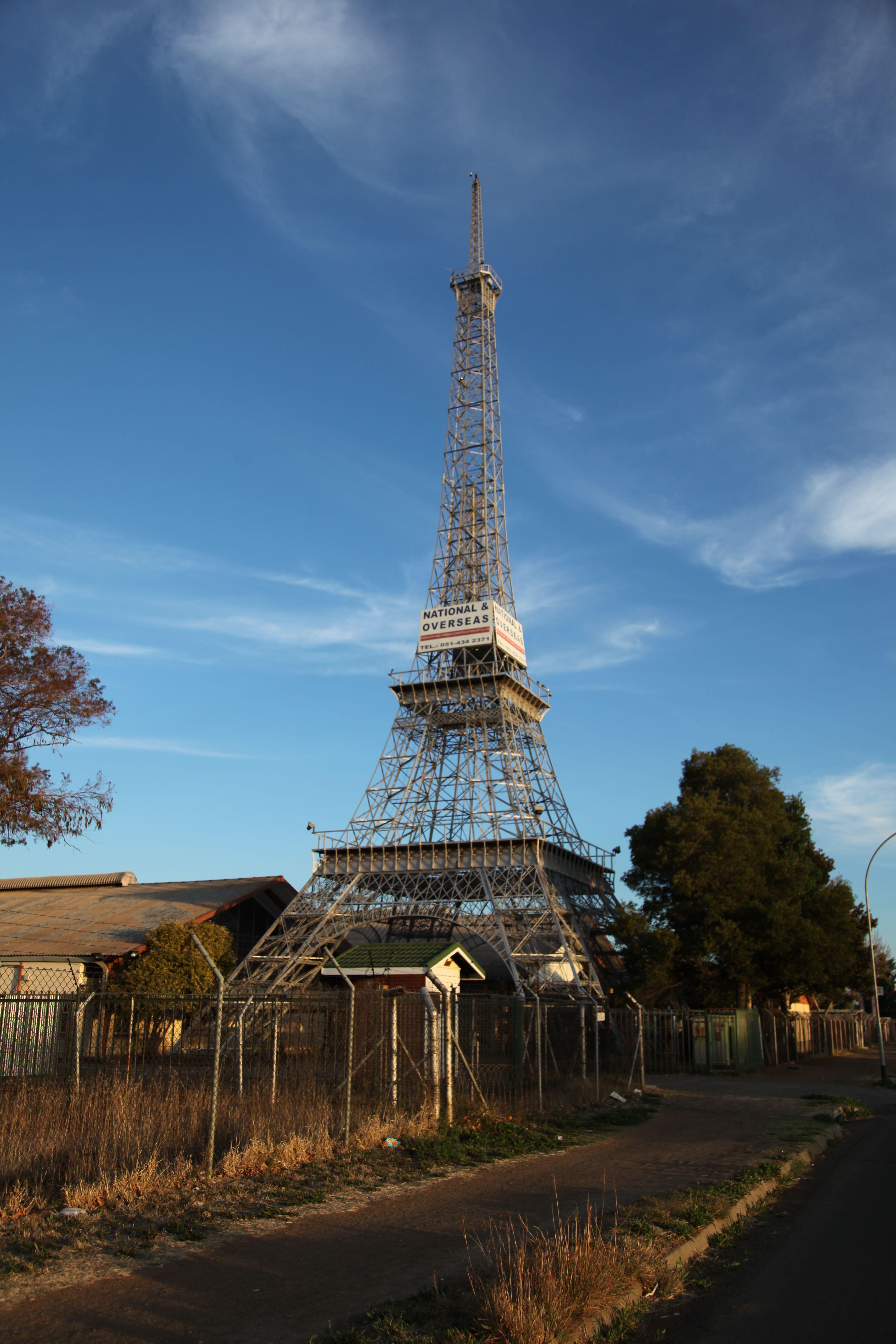 Bloemfontein Eiffel Tower 001 Jpg 3744 5616 Bloemfontein Eiffel Tower South Africa Food