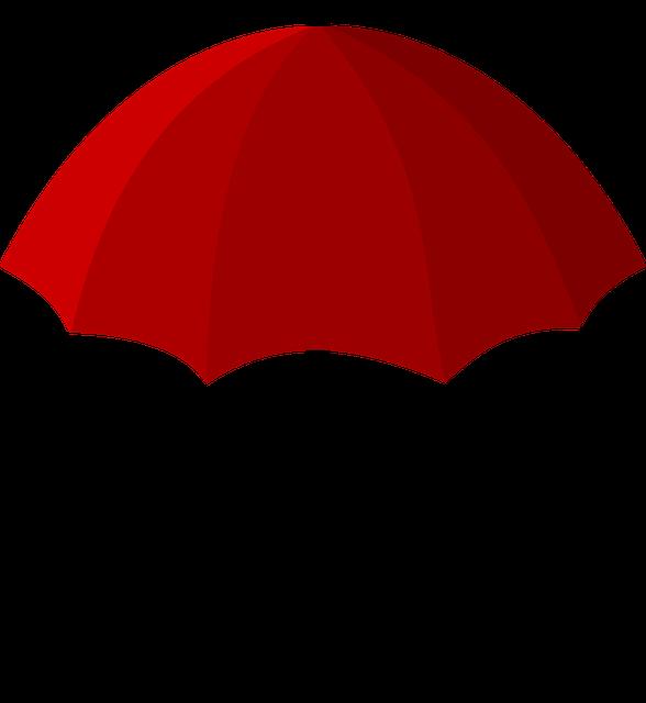 kostenloses bild auf pixabay  regenschirm rot schirm